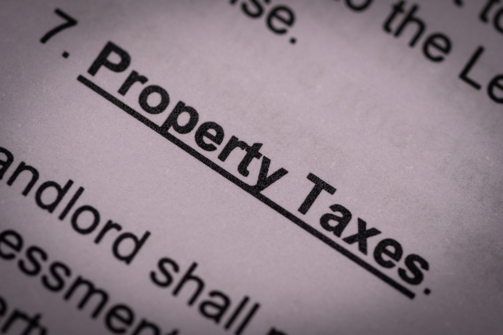 Inherited property taxes
