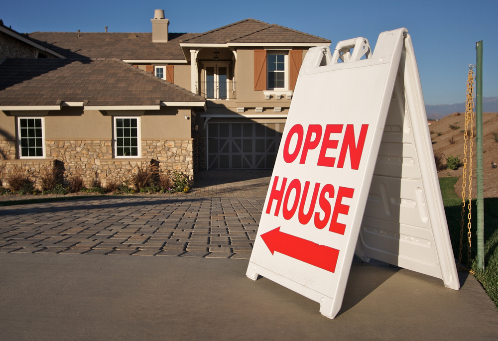 Sell a house fast open house